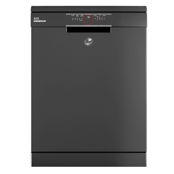 Hoover Freestanding Dishwasher, 13 Persons, 5 Programs, Silver- HDPN1L360PA-EGY