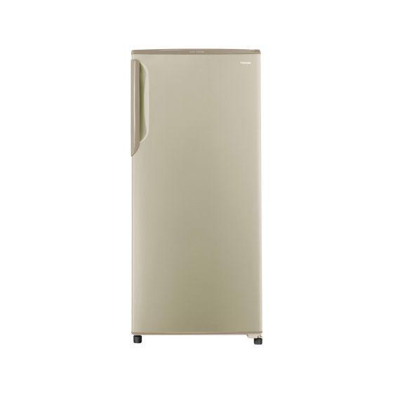 Toshiba No-Frost Upright Deep Freezer, 5 Drawers, Gold- GF-22H-G