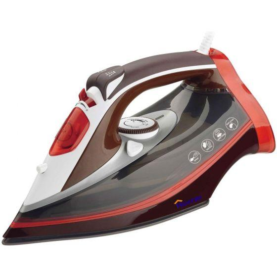Home Steam Iron, 2200 Watt, Red \ White - JE282