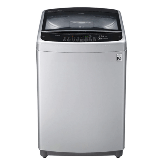 LG Top Load Automatic Washing Machine, 13 KG, Inverter Motor, Silver- T1388NEHGE