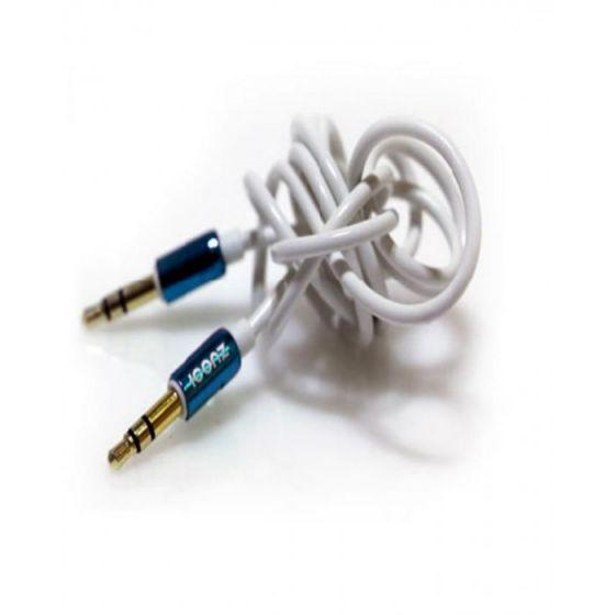 Iconz AUX Cable, 1 Meter, Blue/White - IMN-JC03L