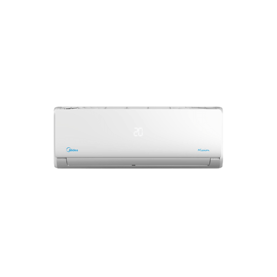 Midea Split Air conditioner, 1.5 Horse Power Cooling Only, White - MSCT-12CR