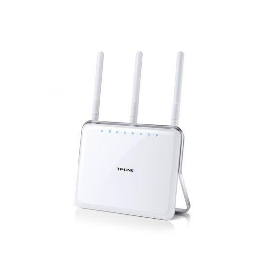TP-Link AC1900 ADSL2 With Wireless Dual Band Modem Router, White- Archer D9