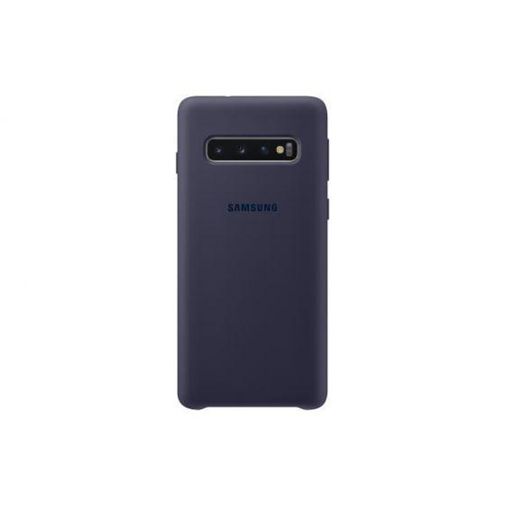 Silicon Back Cover For Samsung Galaxy S10 - Navy