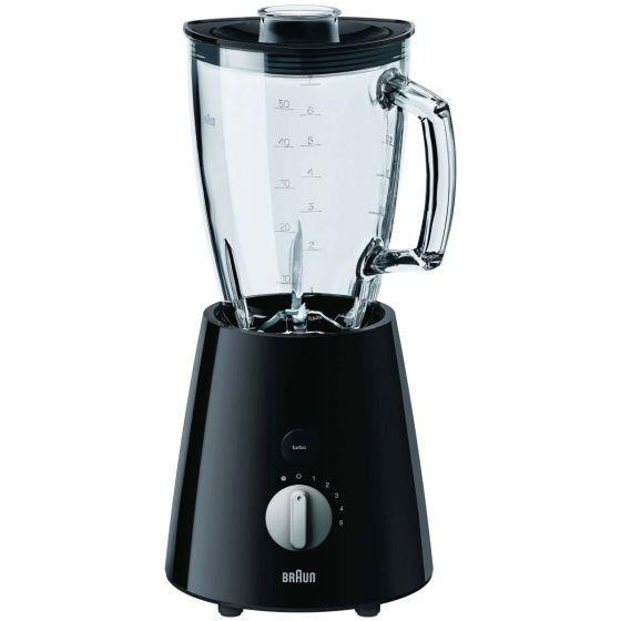 Braun TributeCollection Jug Blender, 800 Watt, Black - JB3060