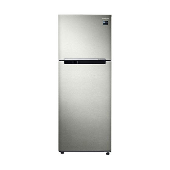 Samsung Freestanding Refrigerator With Twin Cooling Plus Technology, 2 Doors, 397 Liters, Silver - RT38K5000SP/MR