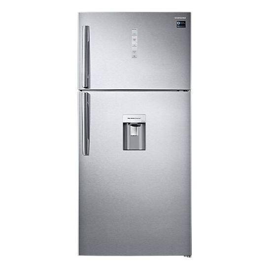 Samsung Freestanding Refrigerator With Twin Cooling Plus Technology, 2 Doors, 629 Liters, Silver - RT62K7150SL/MR