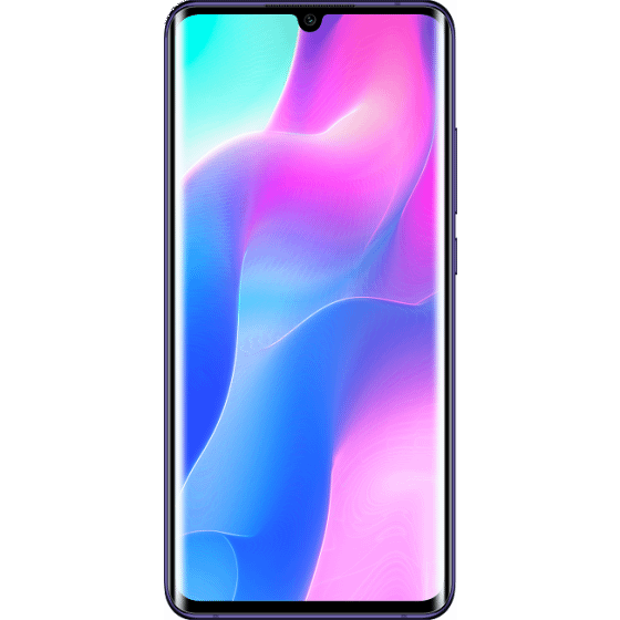 Xiaomi Mi Note 10 Lite Dual Sim, 128GB, 8GB RAM - Nebula Purple with Redmi Wireless AirDots, Black - MEP100
