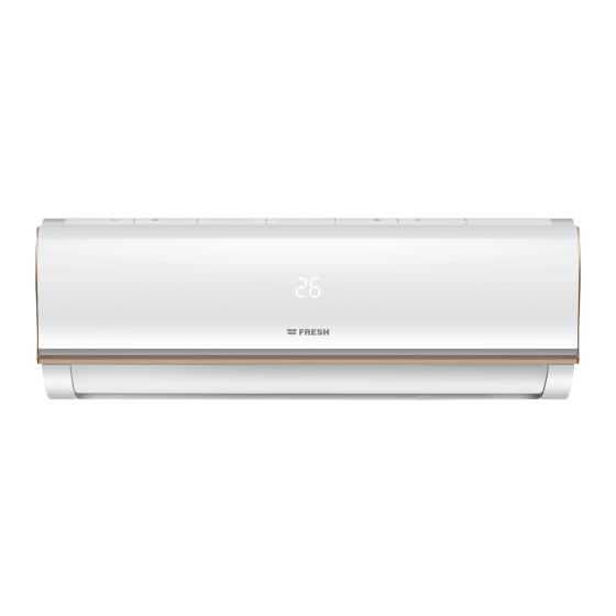 Fresh Split Air Conditioner, 1.5 HP, Cooling Only, White - FUFW12C/IW