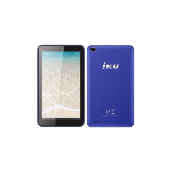 IKU T4 Tablet, 7 Inch, 16GB, 3G - Blue
