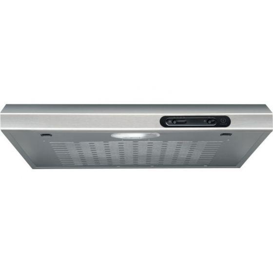 Indesit Freestanding Kitchen Hood, 60cm, Silver - ISLT 65 AS X