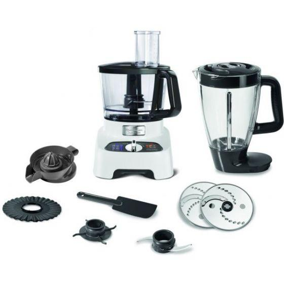Moulinex Double Force Food Processor, 1000 Watt, White - FP823125