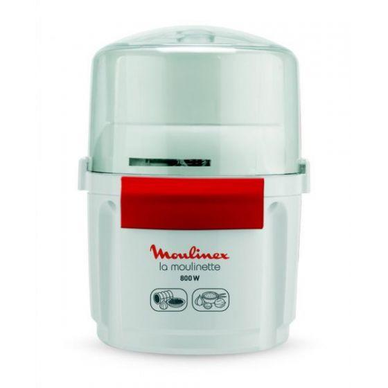 Moulinex La Moulinette Mini Chopper, 800 Watt, White - AD5601EG
