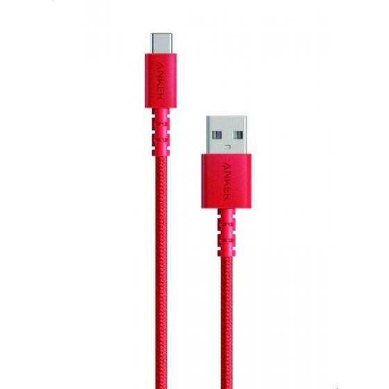 Anker PowerLine Select Plus USB-C Cable, Red - A8022H91