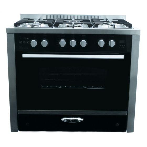 Unionaire 5 Burners i-Cook Pro Gas Cooker, Stainless Steel, 90 cm - C6090SS