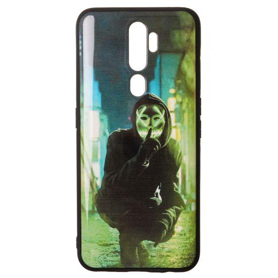 Roo Printed Back Cover for Oppo A5 2020 - Multi Color