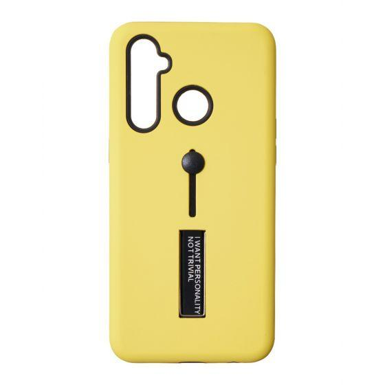 S-Ch Back Cover For Realme 5 Pro - Yellow