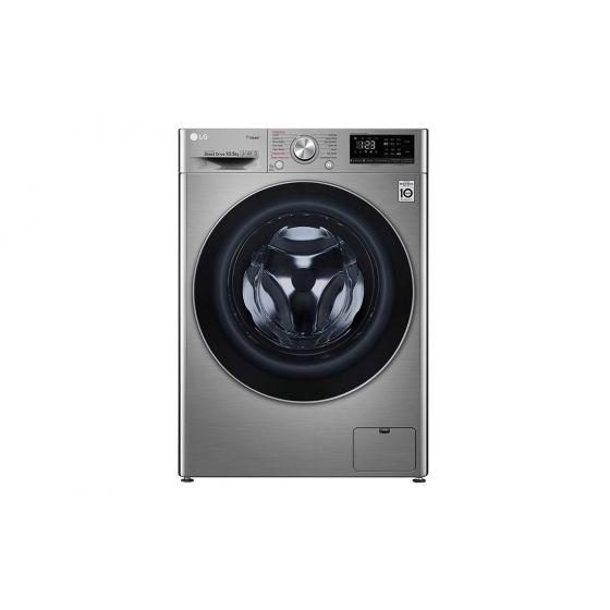 LG Front Load Automatic Washing Machine With Dryer, 15 KG, Inverter Motor, Silver- F0L9DGP2S