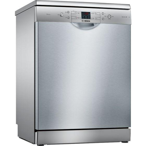 Bosch Serie 4 Freestanding Dishwasher, 12 Persons, 4 Programs, Stainless Steel- SMS44DI00T