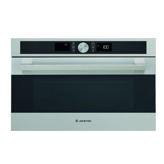 Ariston Built-in Microwave With Grill, 31 Litre, Silver– MD 554 IX A