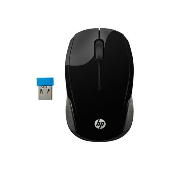 HP Wireless Mouse 200, Black - X6W31AA
