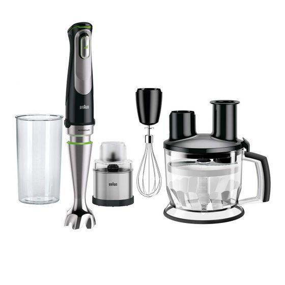 Braun MultiQuick 9 Hand Blender, 1000 Watt, Black - MQ 9078