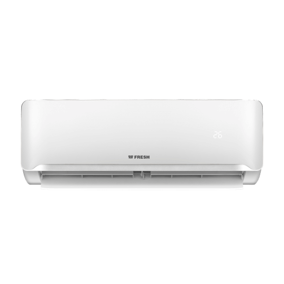 Fresh Split Air Conditioner, Inverter Motor, Cooling And Heating, 1.5 HP, White- PIFW12H/IW