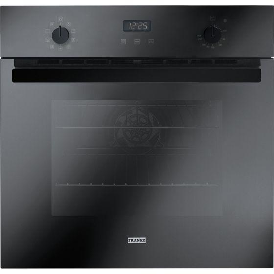 Franke Built-In Electric Oven With Grill, 66 litres, Black - CR 86 M BK/F