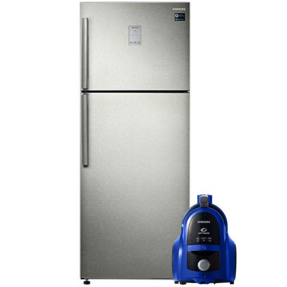 Samsung No-Frost Refrigerator, 528 Liters- RT53K6300S8/MR, With Vacuum Cleaner, 1800W- VCC4540S36