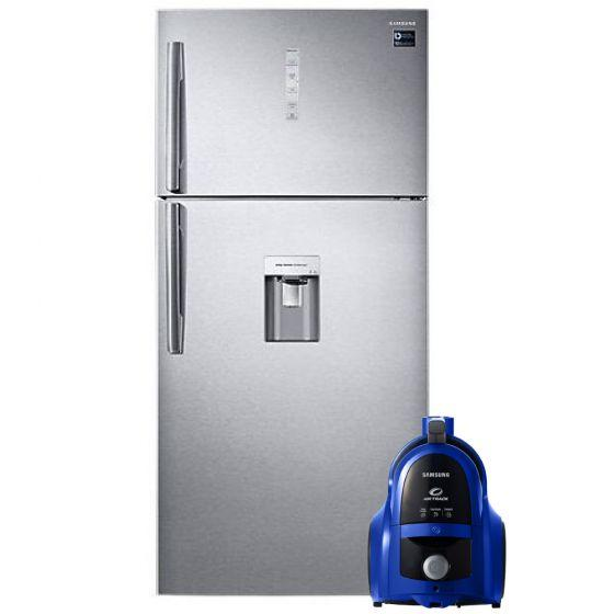 Samsung No-Frost Refrigerator, 629 Liters- RT62K7150SL/MR, With Vacuum Cleaner, 1800W- VCC4540S36