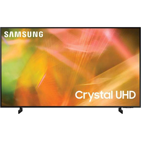Samsung 55 Inch 4K Crystal UHD Smart LED TV with Built-in Receiver - UA55AU8100UXEG