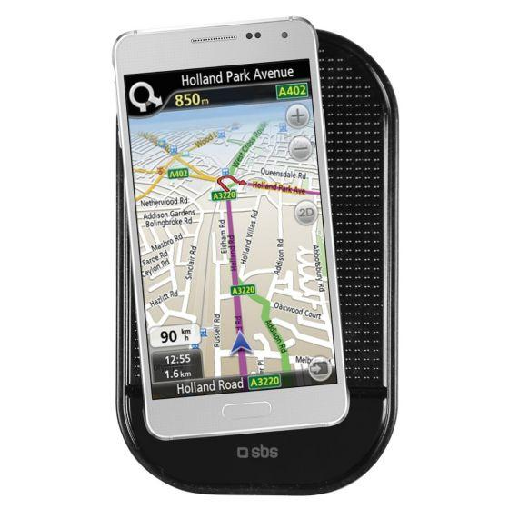 SBS Silicone Mobile Pad, Black - TESUPPSILK