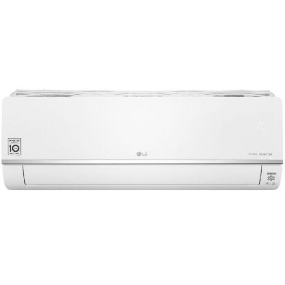 LG Dual Inverter Split Air Conditioner, 2.25 HP, Cooling Only, White- S4NQ18KL2ZC