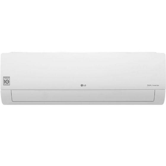 LG Dual Inverter Split Air Conditioner, 2.25 HP, Cooling Only, White- S4-Q18KL3AC