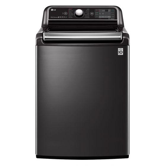 LG Top Loading Automatic Washing Machine, 24 KG, Black - T2472EFHST5