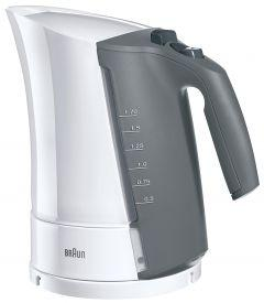 Braun Multiquick 3 Kettle, 1.7 Liters, 3000 Watt, White - WK500