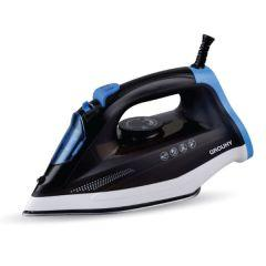 Grouhy Steam Iron, 2000 Watt, Black - 14606