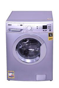 Zanussi Front Load Automatic Washing Machine, 6 KG, Inverter Motor Silver- ZWF60830SX