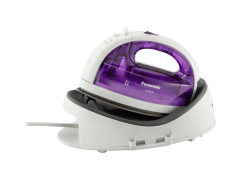 Panasonic Cordless Steam Iron, 1550 Watt, Purple - NI-WL30