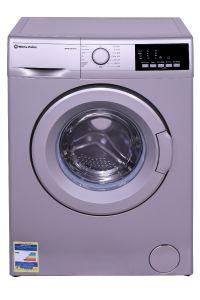 White Point Front Load Automatic Washing Machine, 6 KG, Silver - WPW 6815 DS