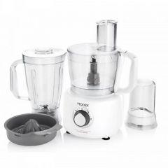 Modex Food Processor, 1000 Watt, White - FP795