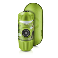 Wacaco Nanopresso Espresso Maker with Case, 18 Bar, Green