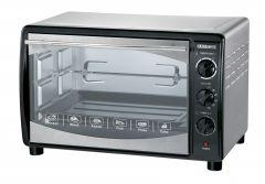 Black And White Turbo Electric Oven, 42 Liter, Black - E‐4200