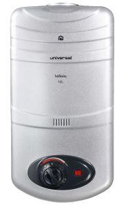 Universal Gas Water Heater, 10 Liters, Silver - Infinity 10-L