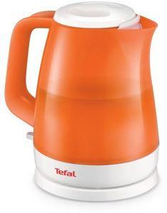 Tefal Delphini Kettle, 2400 Watt, 1.5 Liter, Orange - KO151026