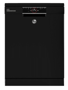 Hoover Freestanding Dishwasher, 16 Persons, 12 Programs, Black- HDPN4S603PB-EGY