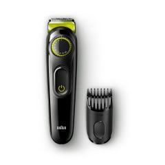 Braun Beard Trimmer, Black - BT3021