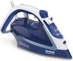 Tefal EasyGliss Plus Steam Iron, 2500 Watt, Blue/White - FV5735E0