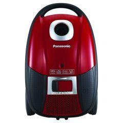 Panasonic Deluxe Bagged Vacuum Cleaner, 2300 Watt, Red - MCCG717