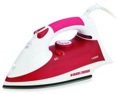 Black + Decker Steam Iron, 1400 Watts - X750R